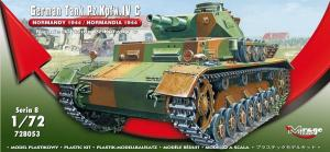 "Model do sklejania German Tank Pz.Kpfw. IV Ausf. C ""Normandy 1944"""