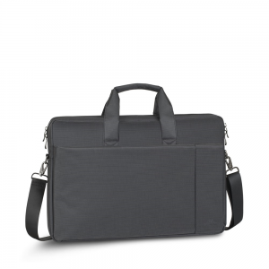 "RIVACASE Central Torba laptop 17,3"" szara"