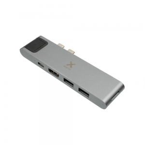 XTORM Adapter USB-C Hub 7-in-1 szary